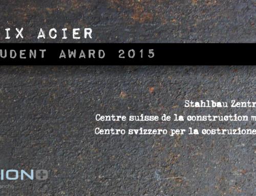 Prix Acier Student Award 2015