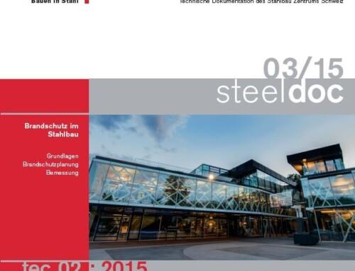 Nouvelle parution octobre 2015 | tec 02:2015 Protection incendie des structures